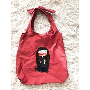 Marc Jacobs Red Cotton Bag
